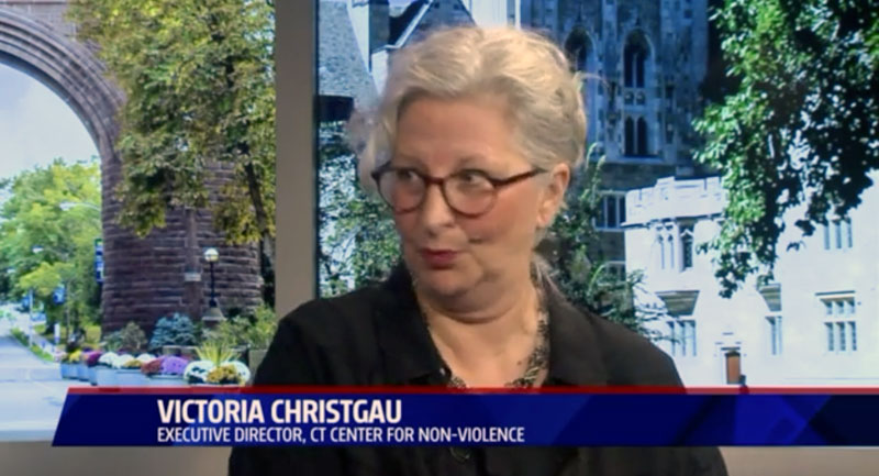 Victoria Christgau on Fox 61 - he Stan Simpson Show: Combating violence with peace