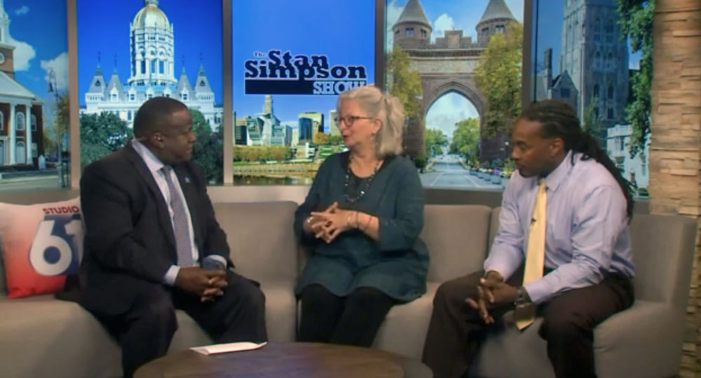 Victoria Christgau on Fox 61 - The Stan Simpson Show: Helping police to de-escalate racial tension