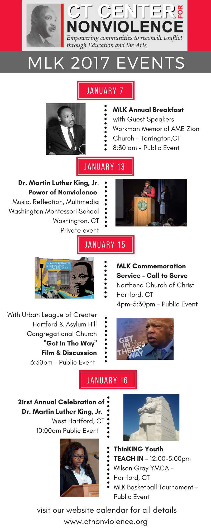 MLK 2017 Holiday Events