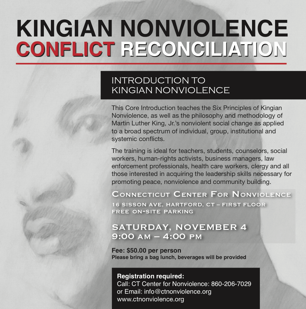 INTRODUCTION TO KINGIAN NONVIOLENCE