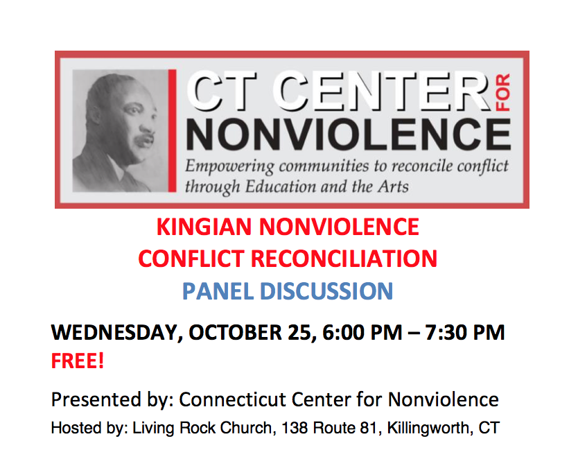 KINGIAN NONVIOLENCE PANEL DISCUSSION