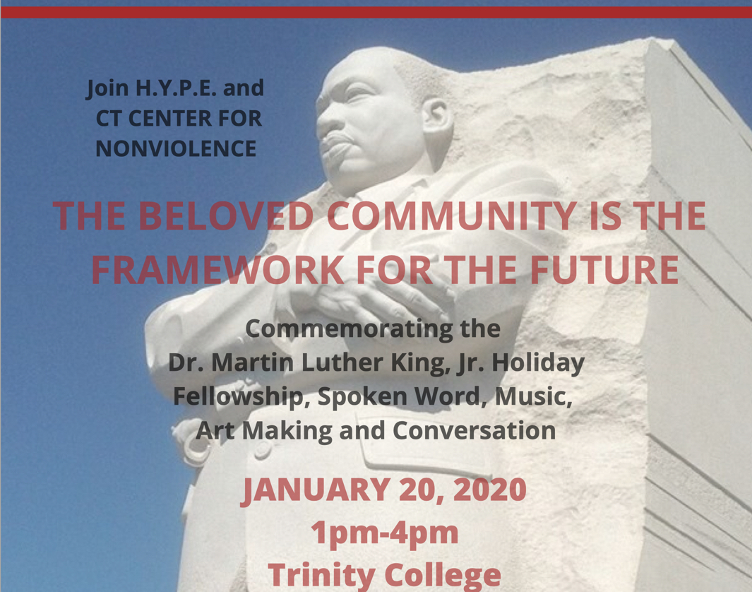 Commemorating the Dr. Martin Luther King, Jr. Holiday Fellowship, Spoken Word, Music, Art Making and Conversation